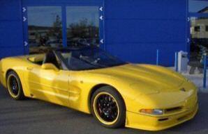 Фото 1 Chevrolet Corvette 2 дв. кабриолет