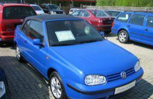 Фото 2 Volkswagen Golf 2 дв. кабриолет