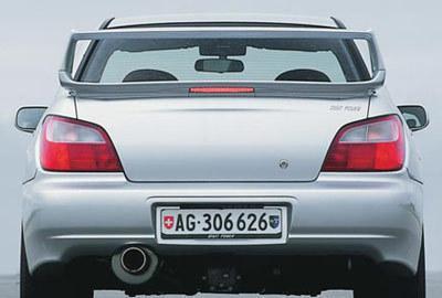 Фото 4 Subaru Impreza 4 дв. седан
