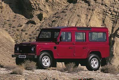 Фото 3 Land Rover Defender 5 дв. внедорожник
