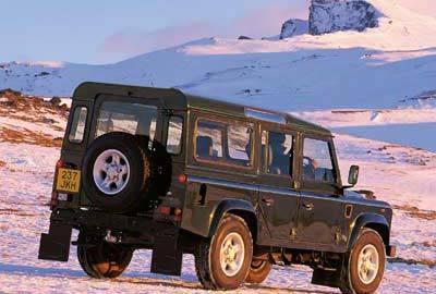 Фото 4 Land Rover Defender 5 дв. внедорожник