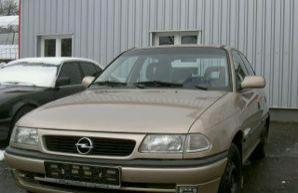 Фото 3 Opel Astra 4 дв. седан