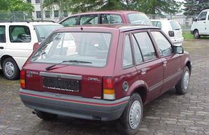 Фото 3 Opel Corsa 5 дв. хэтчбек
