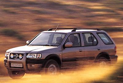 Фото 2 Opel Frontera 5 дв. внедорожник