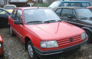 Фото 3 Peugeot 309 3 дв. хэтчбек