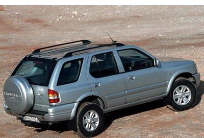 Фото 4 Opel Frontera 5 дв. внедорожник