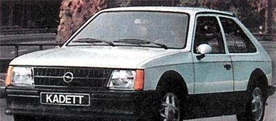 Фото 2 Opel Kadett 3 дв. хэтчбек