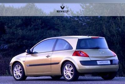 Фото 1 Renault Megane 3 дв. хэтчбек