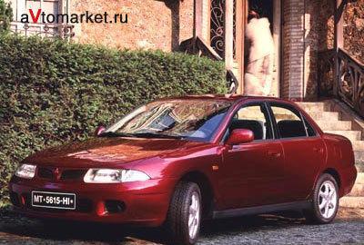 Фото 1 Mitsubishi Carisma 4 дв. седан