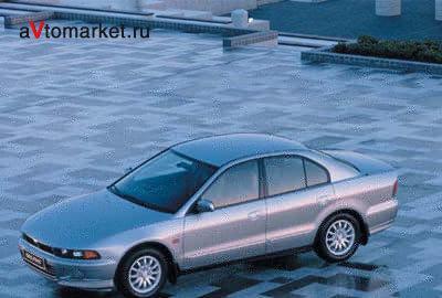 Фото 3 Mitsubishi Galant 4 дв. седан